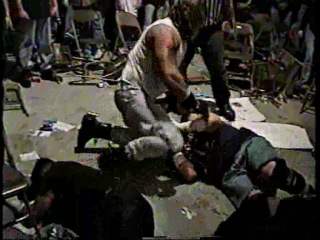 CZW Barbed Wire Brawl 24.04.1999 - Zandig & Lobo vs. Justice Pain & Nick...